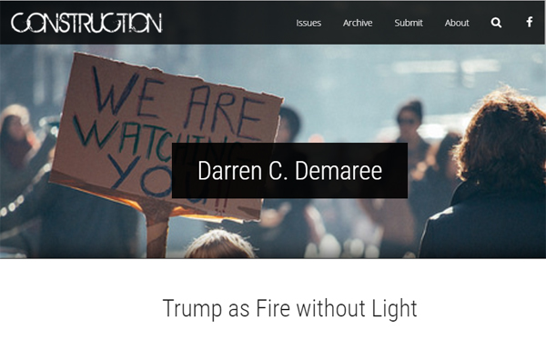 2DarrenCDemareeTrumpasFirewithoutLight